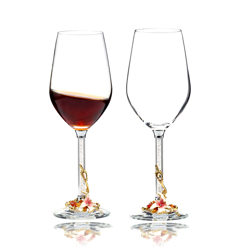 wine glass crystal glass drinking glass