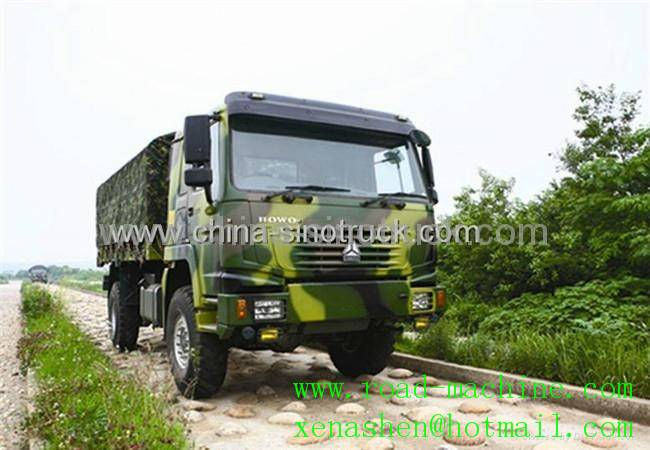 HOT SALE SINOTRUK 4X4 ALL WHEEL DRIVE CARGO TRUCK