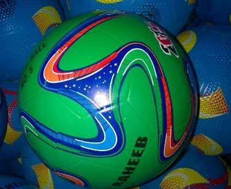 2014 world cup design rubber ball