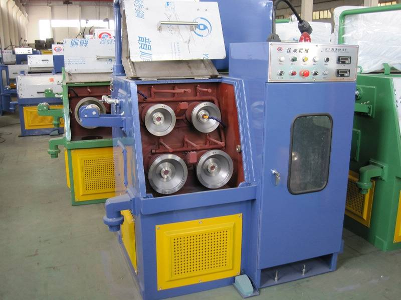 fine copper wire drawing machine with annealer