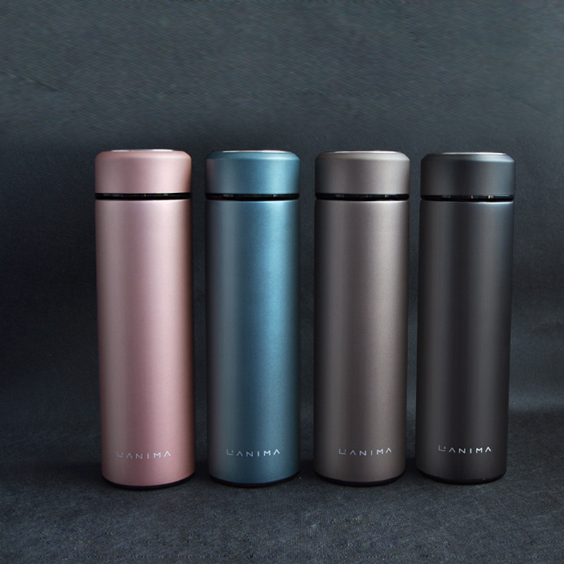 Stainless Steel Vacuumm Insulation Matte Business Flask