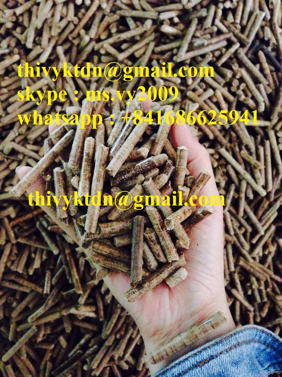 wood pellet 6mm  using boiler , power plant ,skype; ms.vy2009
