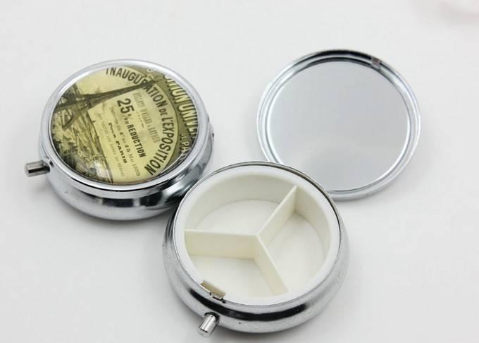 Solid Plain Pill Box LFP1605