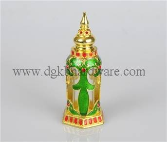 Zinc alloy perfume bottle metal perfume bottle