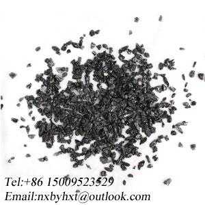 High temperature black silicon carbide for processing nonferrous metals