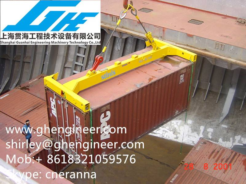 20ft/40ft Semi Auto Container Spreaders In Stock
