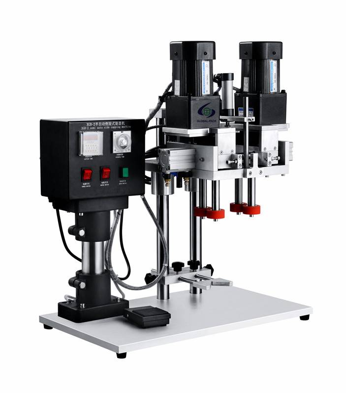 GXGB-2 Semi automatic capping machine with claws