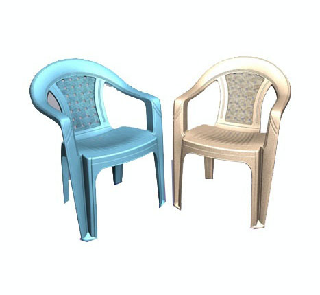 coloroful stacking chair mould