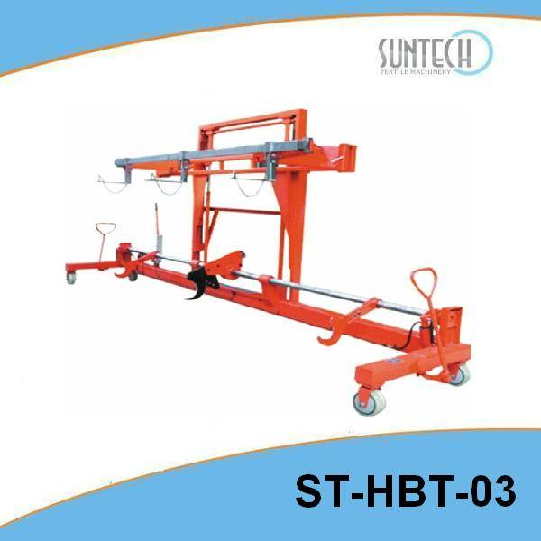 Hydraulic Warp Beam Lift Trolley with Harness Mounting Device(ST-HBT-03)