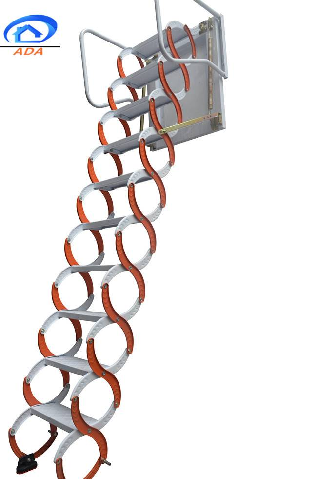 platform folding step ladder