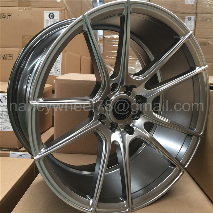 new design rays car wheels hyper black aluminium alloy wheel