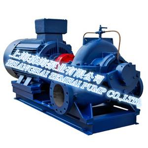Double-suction split-case centrifugal pump