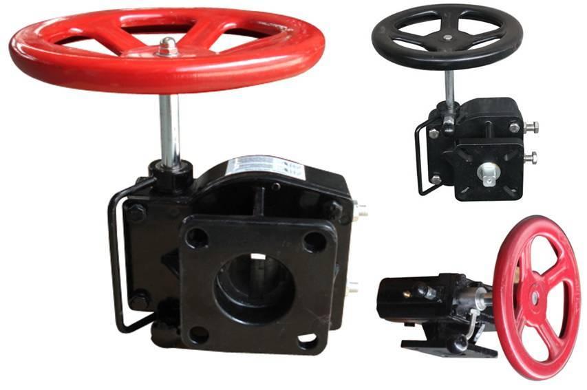 Hand wheel gear operators