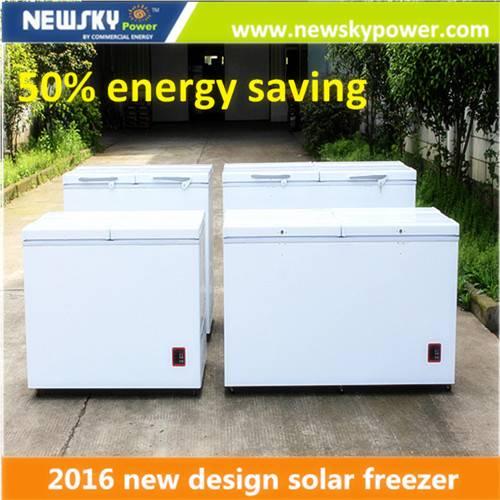 Commercial Freezer 12v DC Solar Deep Freezer