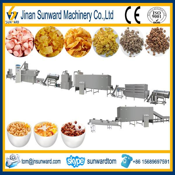 Full Automatic Corn Flakes Food Making Machine