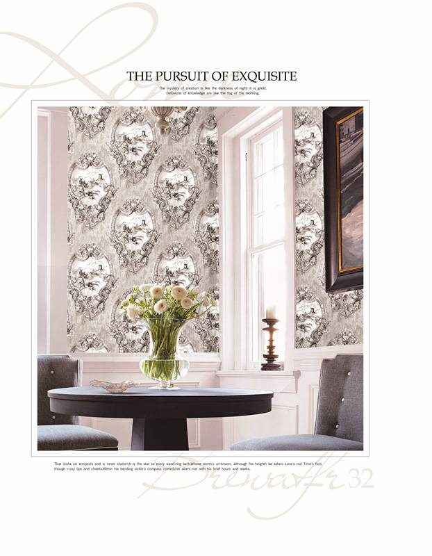 luxury pure paper wallpaper