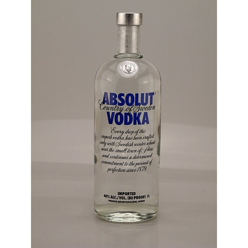 Colorado Quality Products: Absolut Vodka, High Quality Absolut Vodka