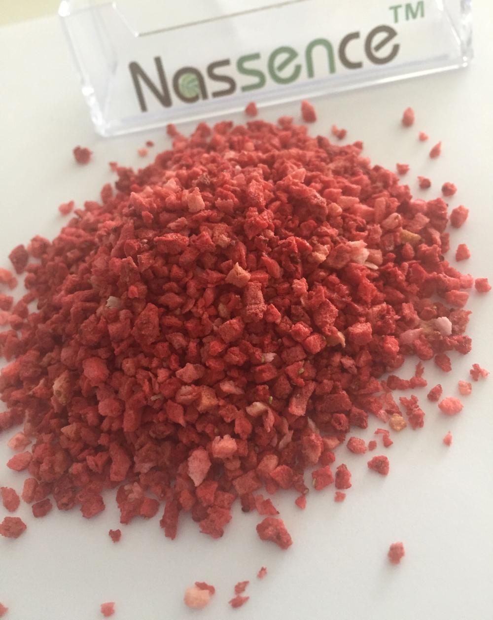 Frozen Dried Fruit-Frozen Dried Strawberry Krispies 1-3mm