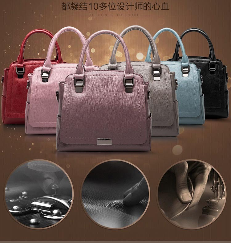 women's handbag newest fashion bag wholesale bag in China can be customized