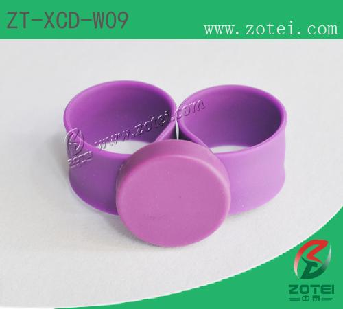 Clap silicone wristband tag(ZT-XCD-W09)