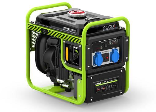 2kw open frame Smart Silent Portable Digital Inverter Gasoline Generator