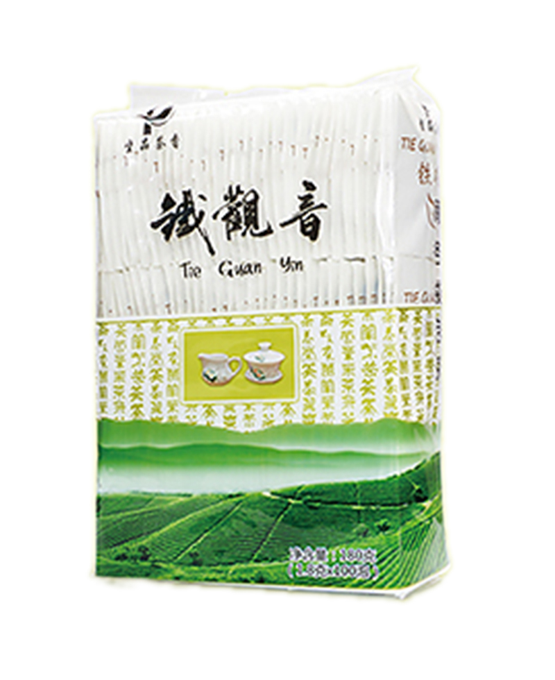 Chinese Premium semi-fermented Tie Kuan Yin Oolong Tea (Refreshing type) Oolong tea bag