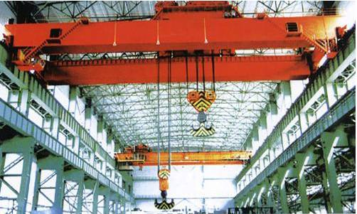 QDY model 5-74 tonnage crane bridge type casting crane of china manufactures