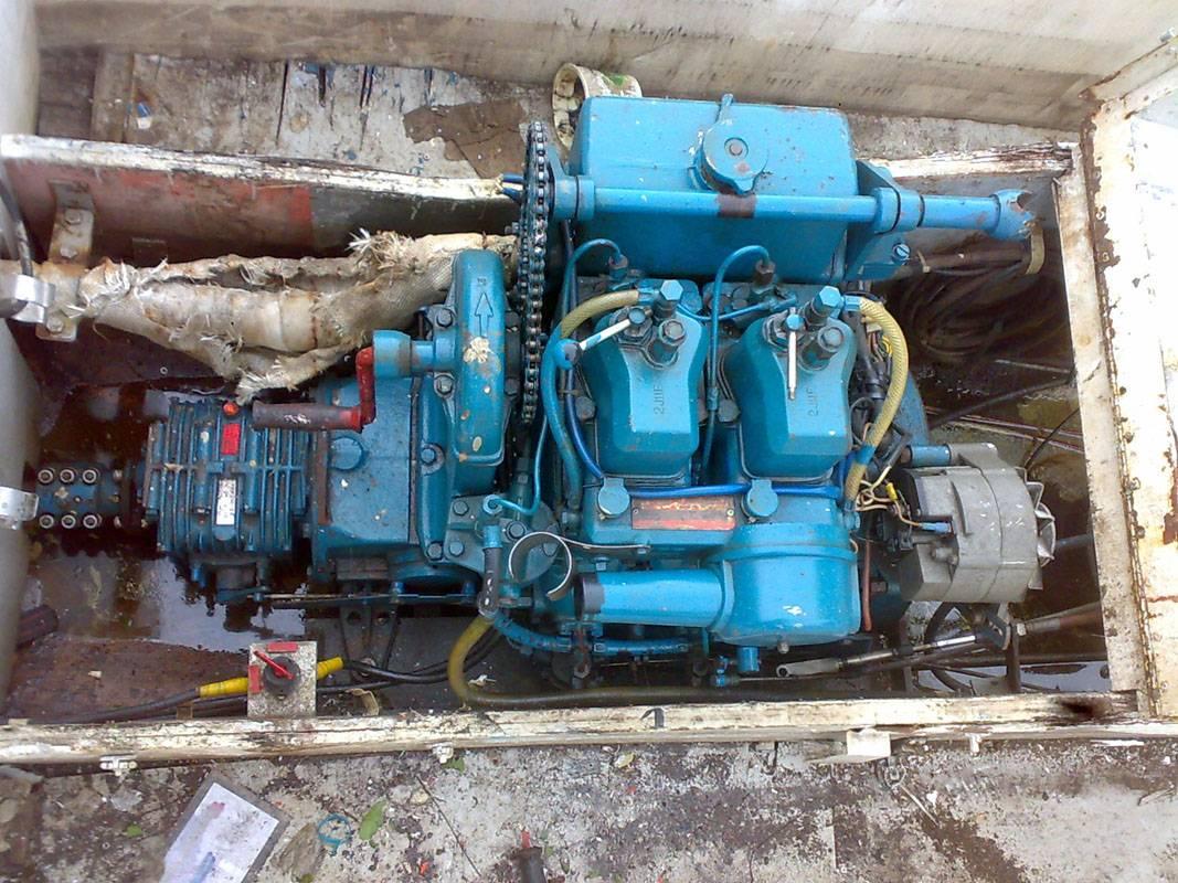 Sabb 2JHR inboard diesel engine