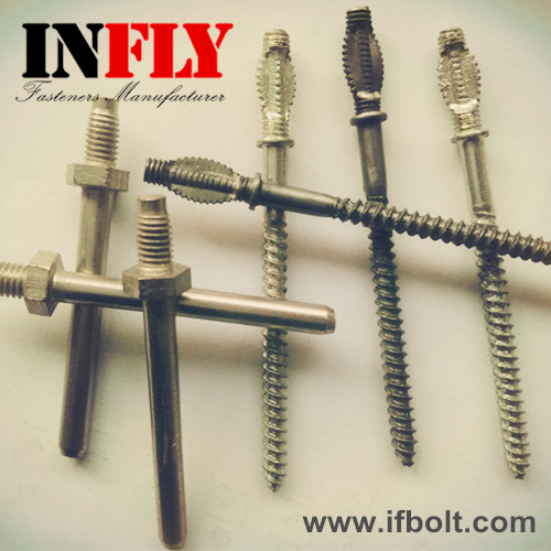 Flat Head Screw,Squashed Head Screw,Hex Middle Stud Bolts-Infly Fasteners Manufacturers