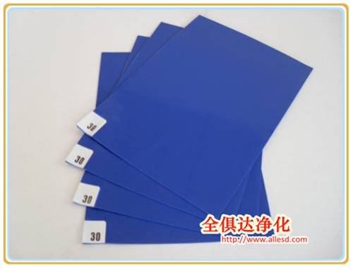 Cheap Frameless Walk Off Replacement Disposable peelable LDPE Cleanroom Sticky Mat