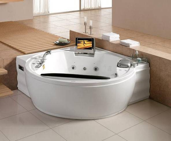 Luxury Massage Bathtub with TV/DVD