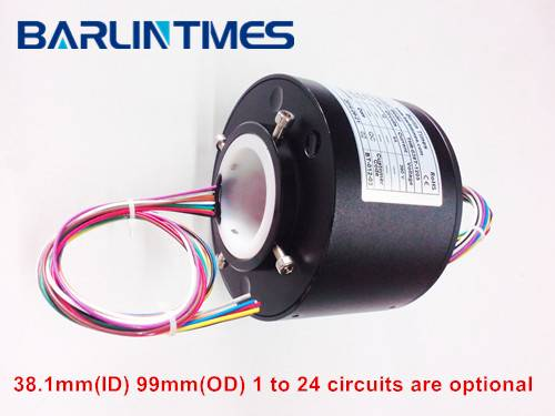 Through Hole Slip Ring with 38.1mm ID