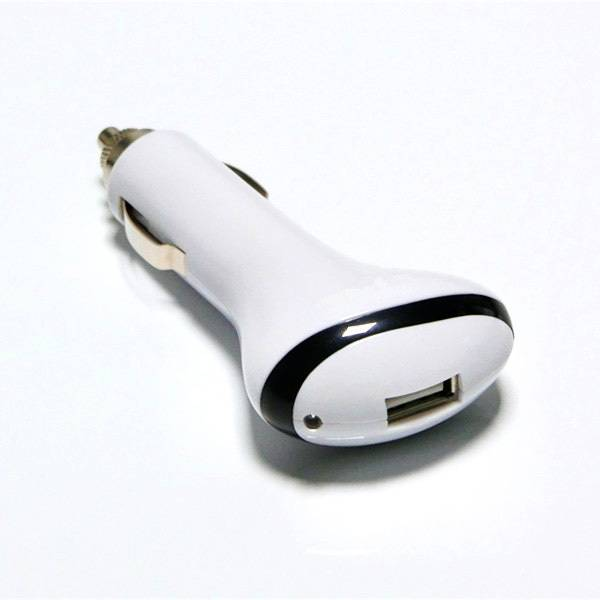 popular mobile phone car battery charger dual single usb with indicating light