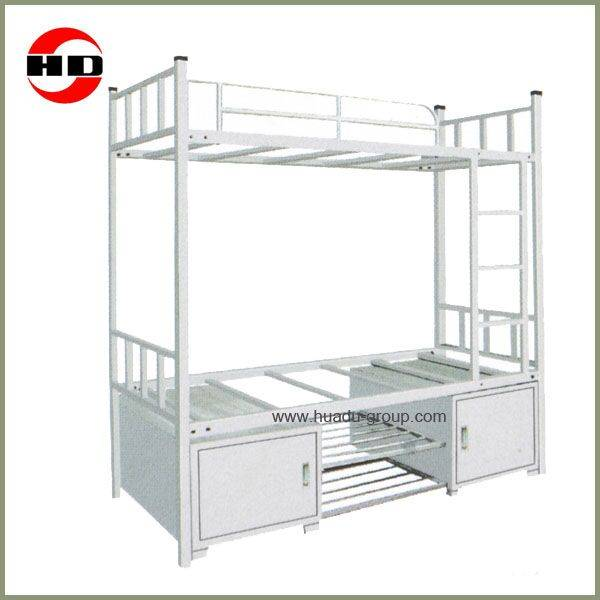 Hot sale bunk bed with locker