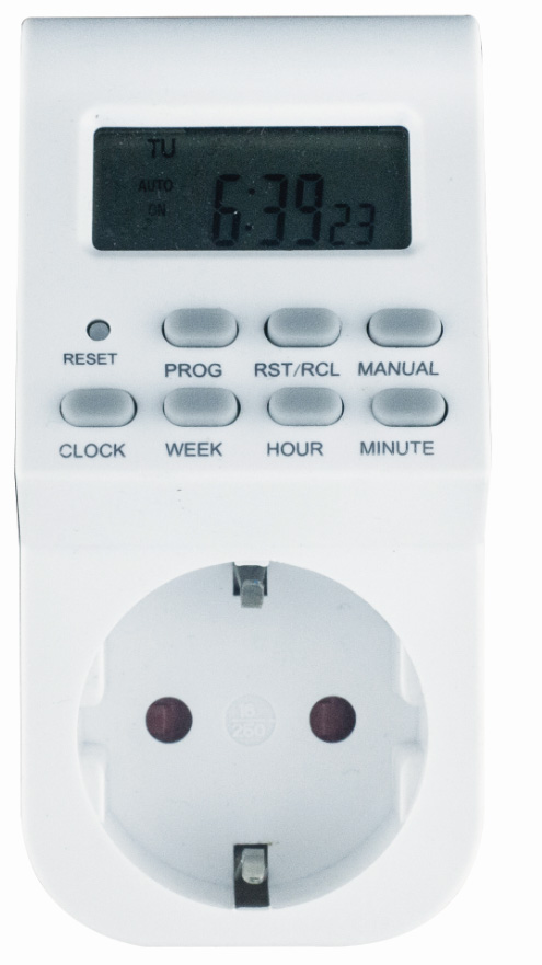 electric timer switch with digital display