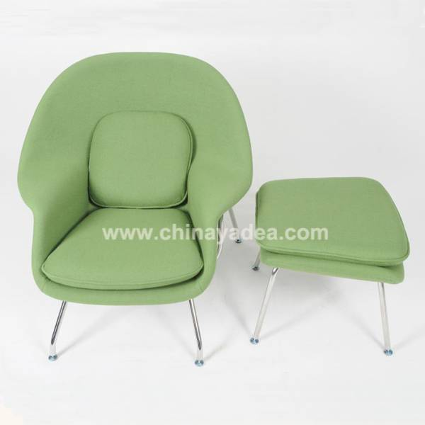 Hotel furniture womb chair manufacturer