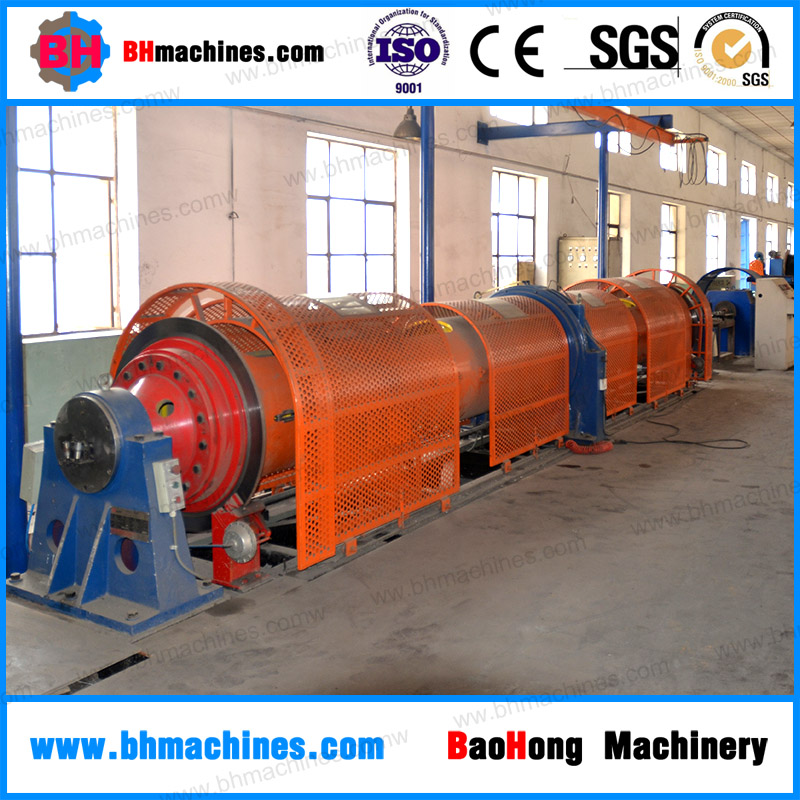 China manufacturer tubular type electric cable making machine Tubular strander line