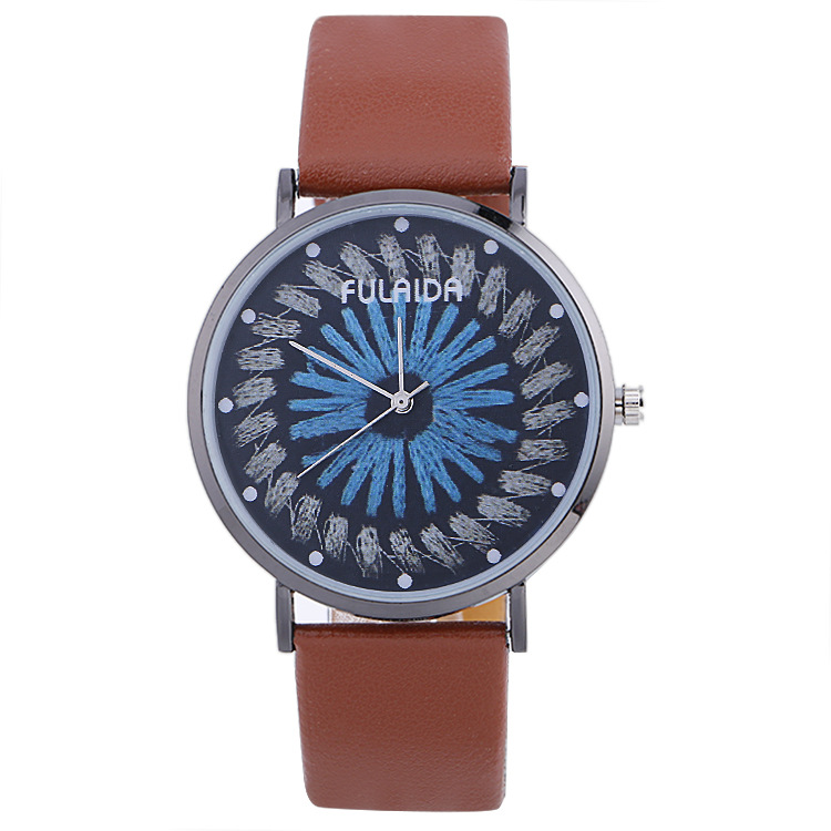 Classic Unisex Style Good Quality PU BandClassic Unisex Style Good Quality PU Band Leisure Watch
