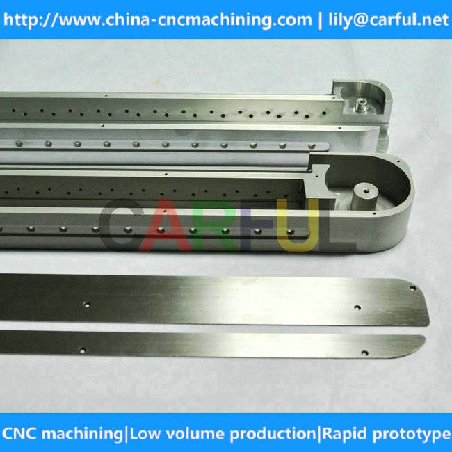 precision aluminum parts small batch CNC machining & single custom CNC turning CNC milling made in C