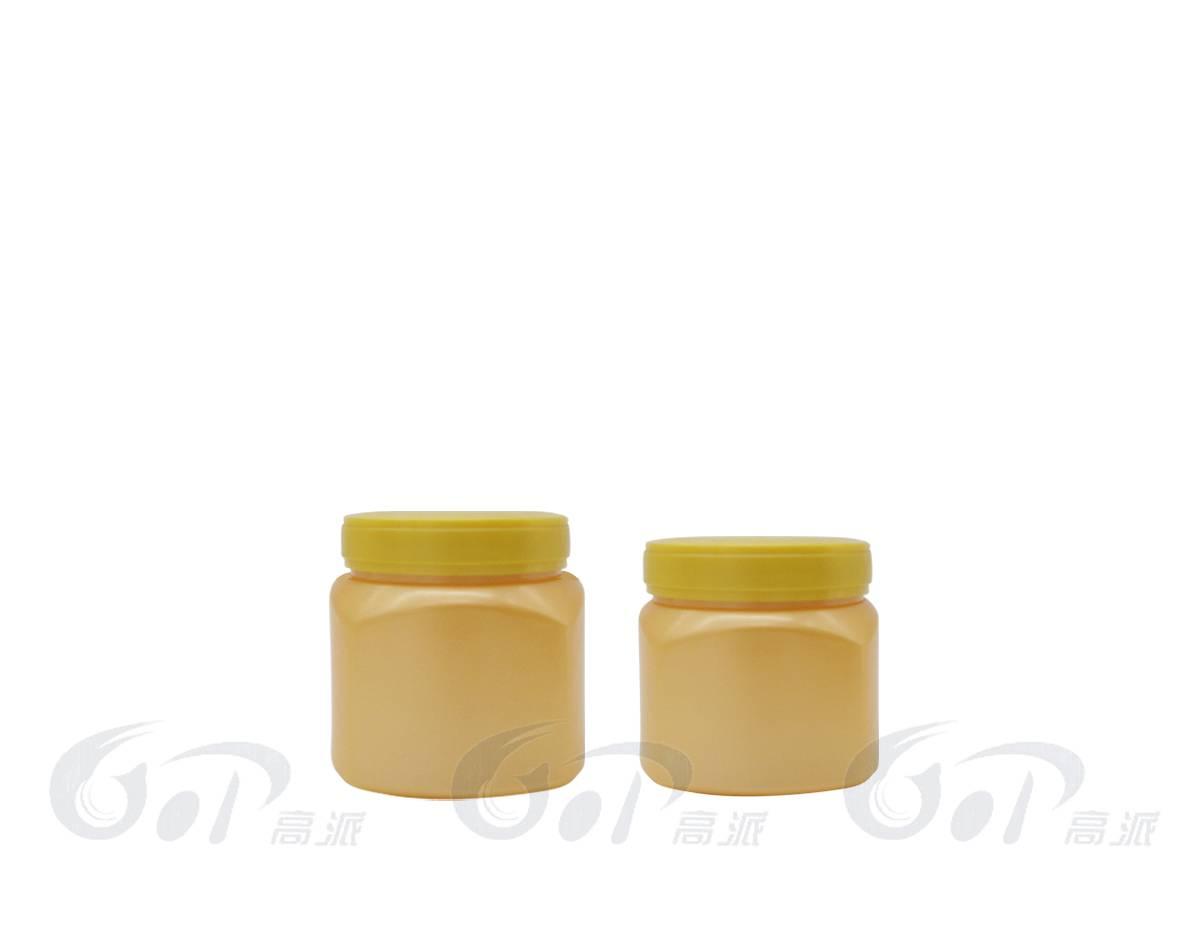 500ml hair care plastic jars