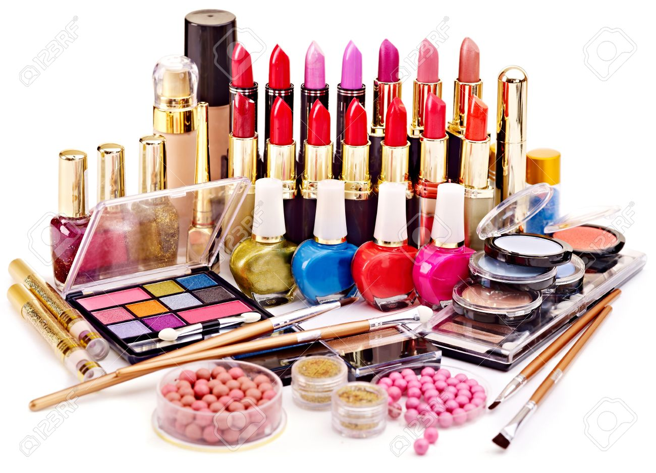 Make Ups, Cosmetics, Skin Care, Hair Care, Nail Care, Sun and Tan Care, Face Care, Lipsticks