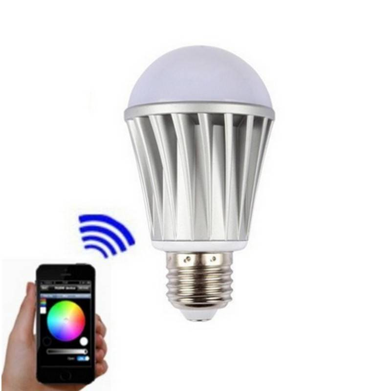 New Bluetooth Smart Led Light Bulb with IOS and Android System Playbulb Music Speaker Player RGB Whi