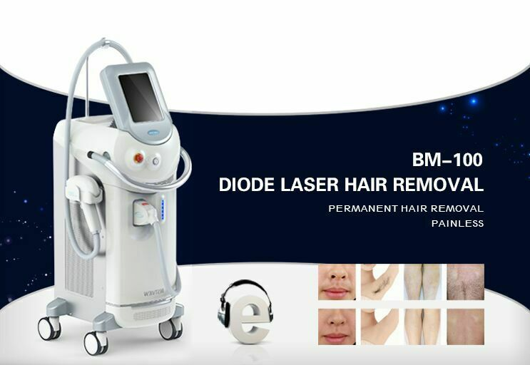 Vertical 808nm Diode Laser Hair Removal Machine For Clinic Use (BESTVIEW-BM100)