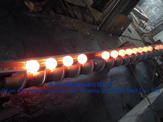 92 mm steel forging balls for ball mill