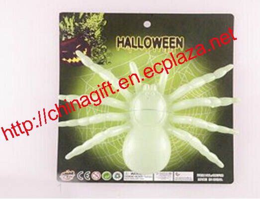 Glow in the dark spiders