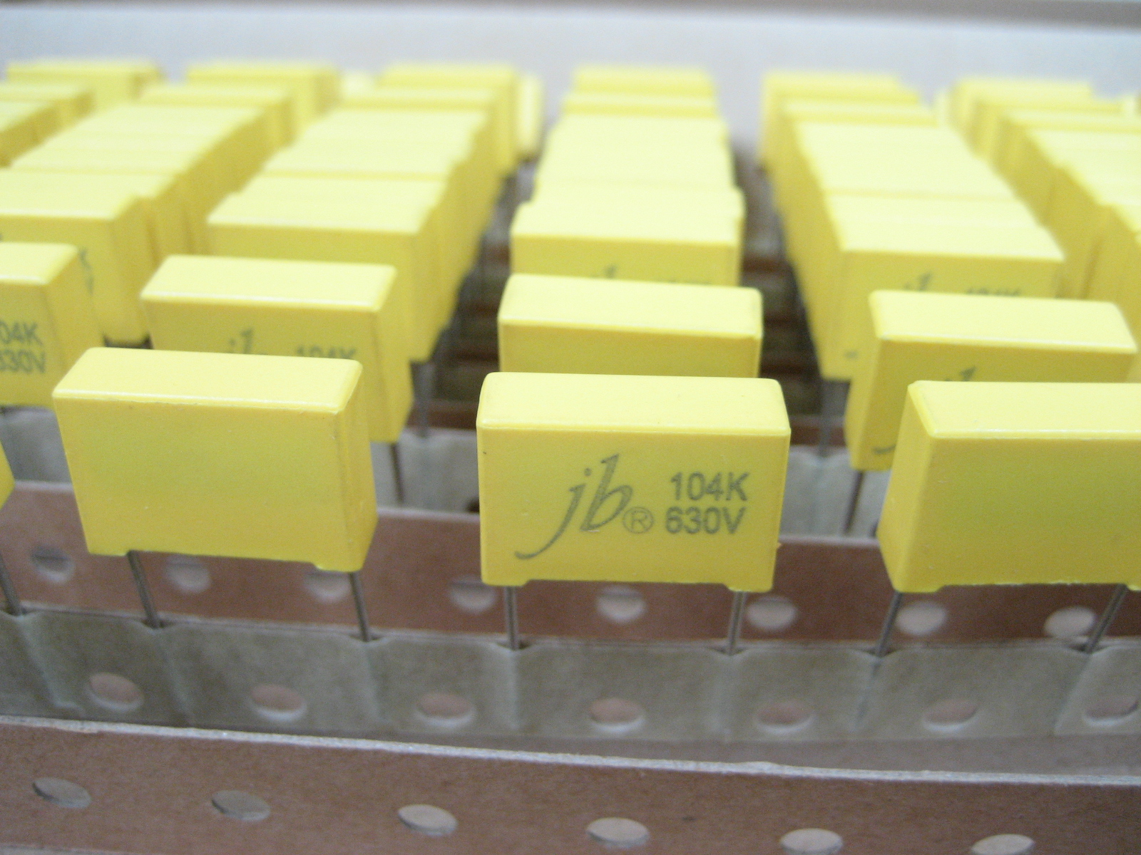 JFM--Box Type Metallized Polypropylene Film Capacitor