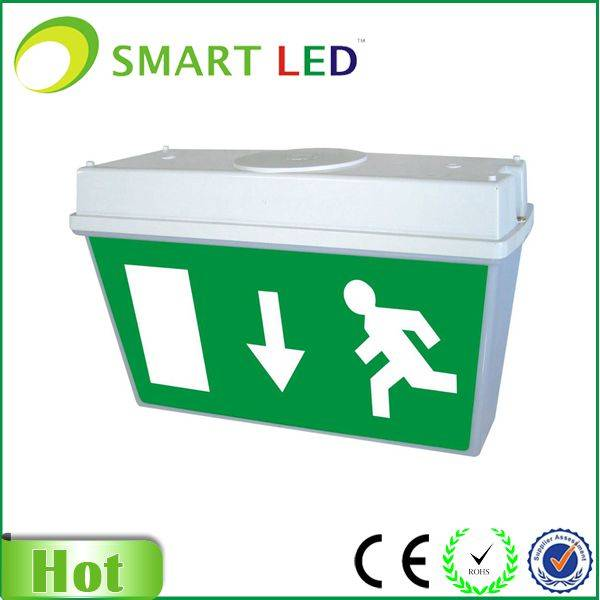 3W led exit sign bulkhead Maintained & Non-maintained
