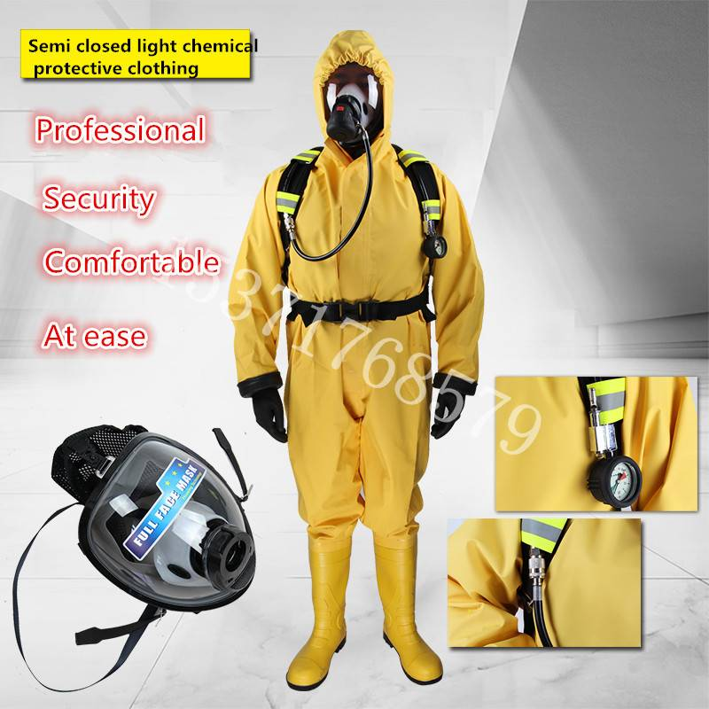 2016 Hot sale Solas approved Chemical resistant suits for fireman safety working,Light type Chemical