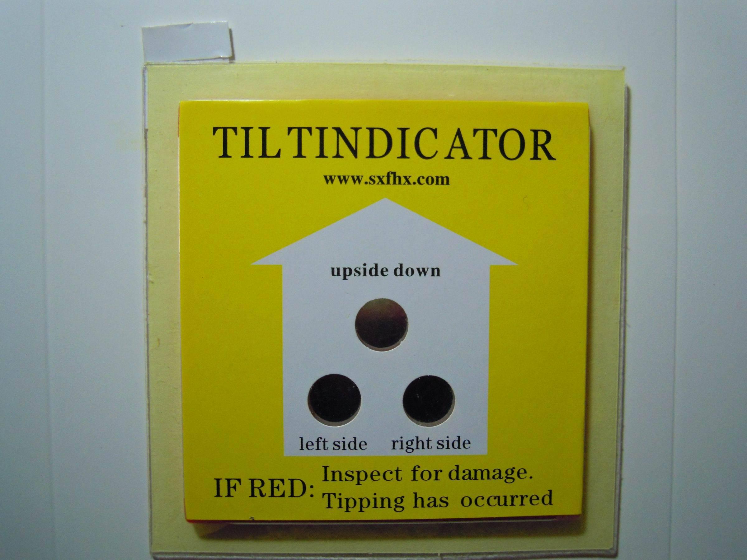 TILTINDICATOR TILTWATCH