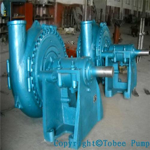 heavy duty river stone gravel mud suction sand pump